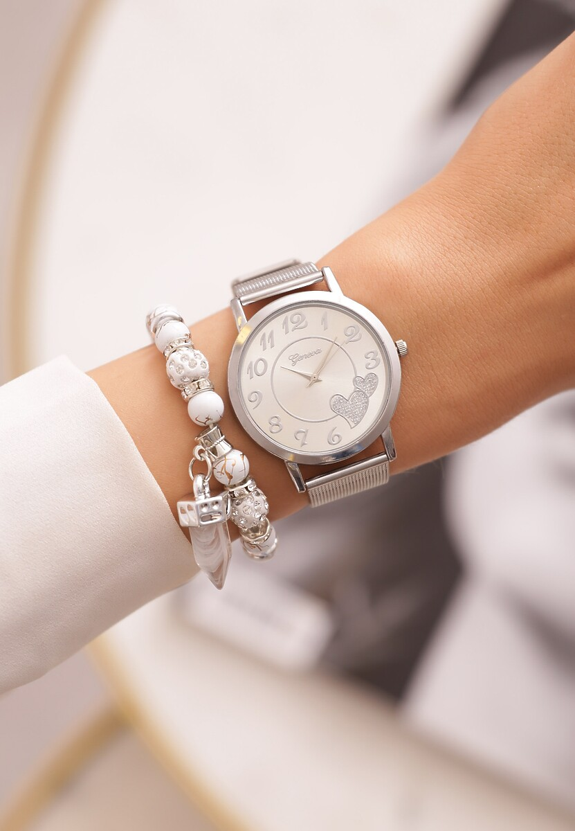 Srebrny Zegarek Eminently