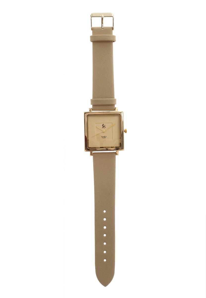 Beżowy Zegarek Enormously