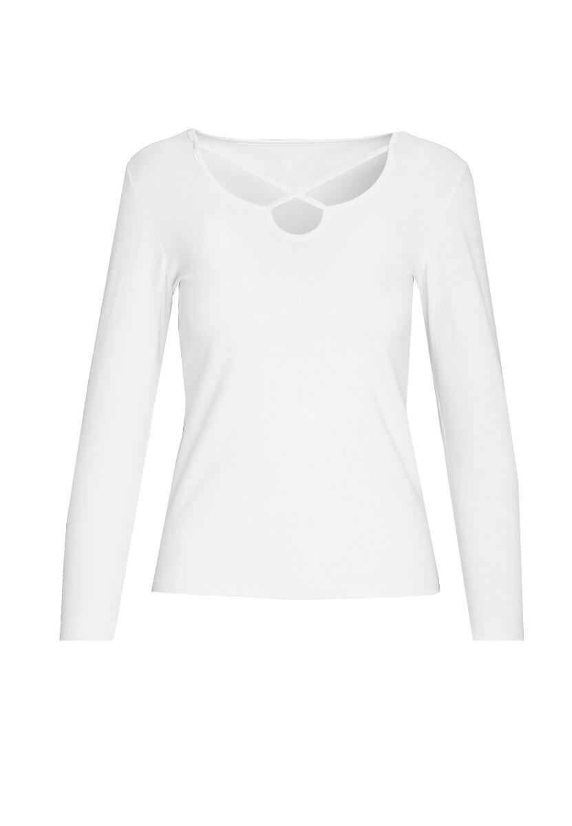 Biała Bluzka Impliable