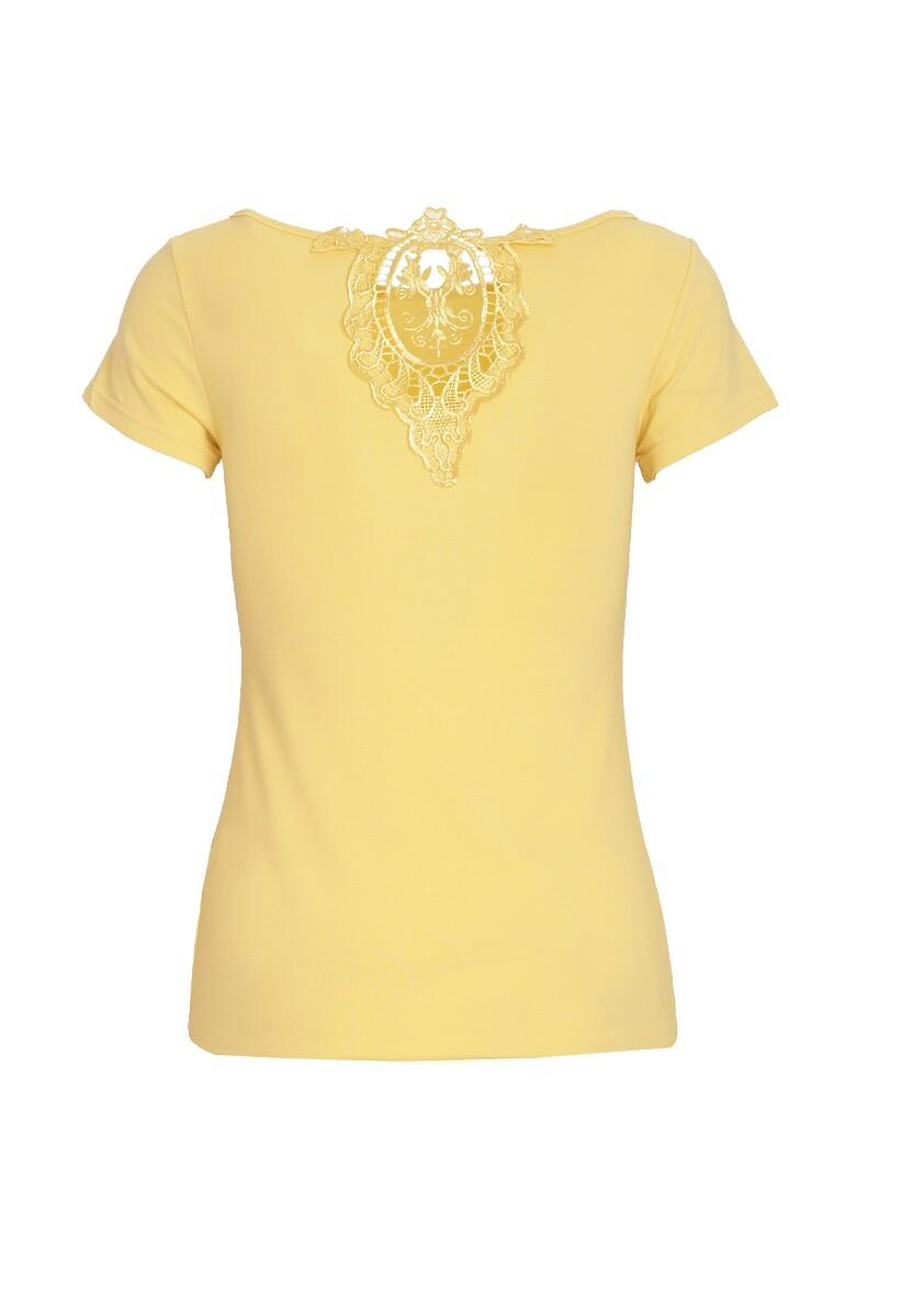 Żółty T-shirt Indefinite