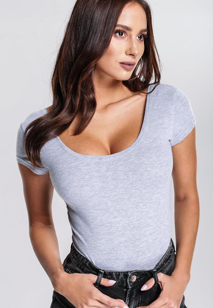 Szary T-shirt Immalleable