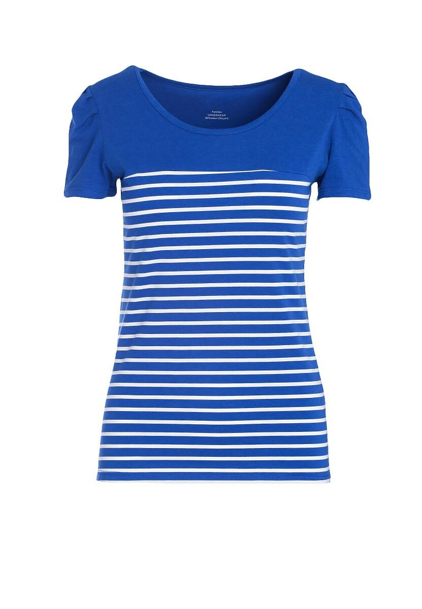 Granatowa T-shirt Mix