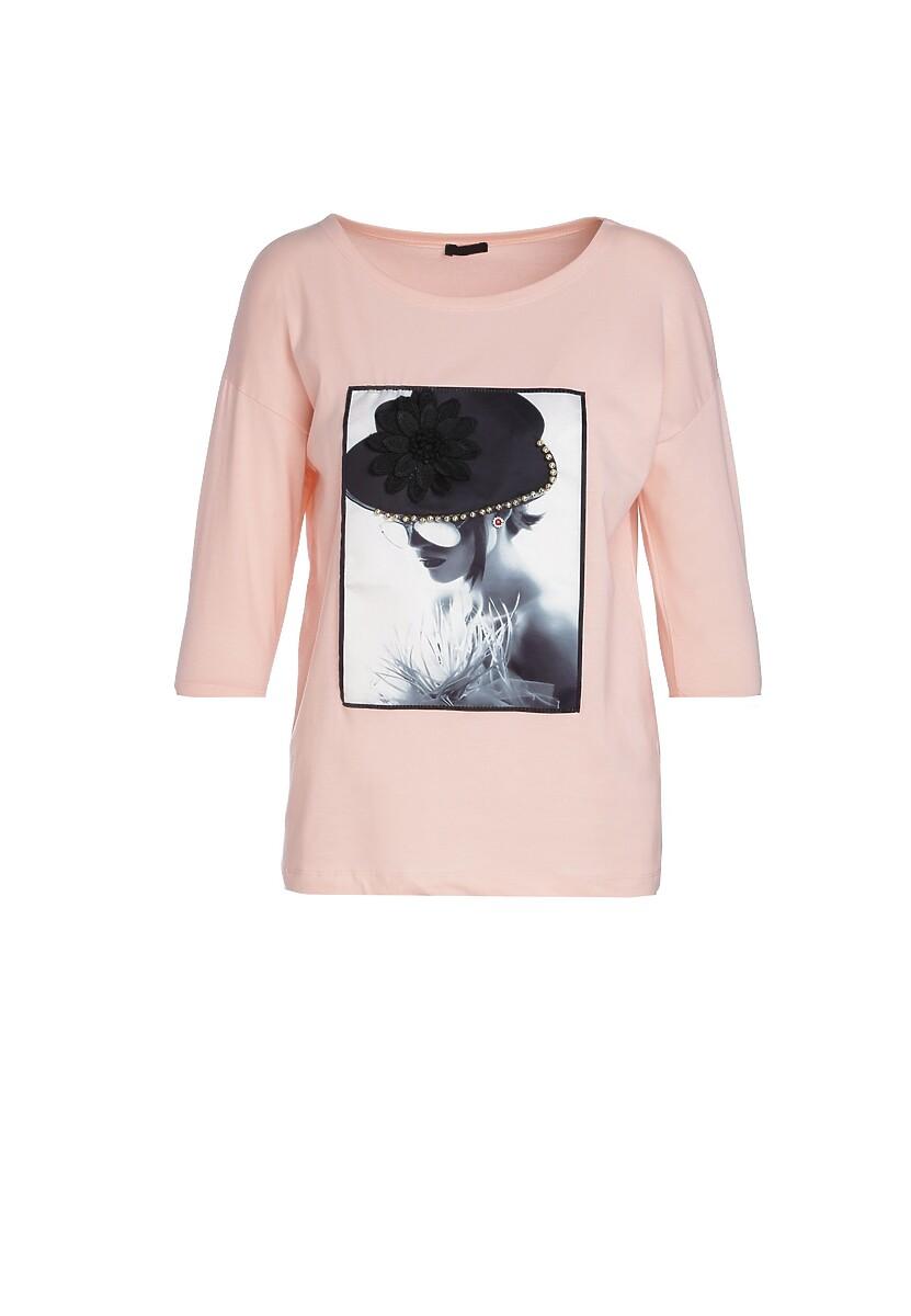 Różowa Bluzka Gang Up On