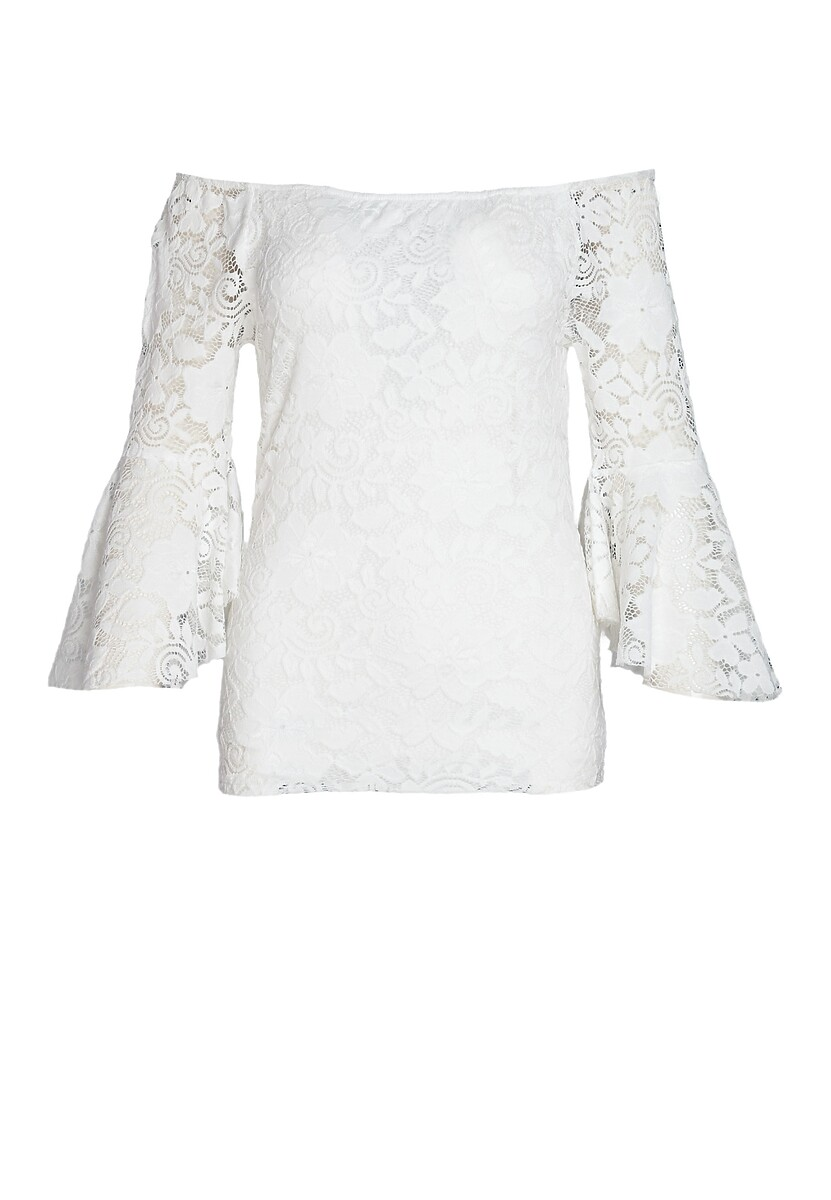 Biała Bluzka Sizable