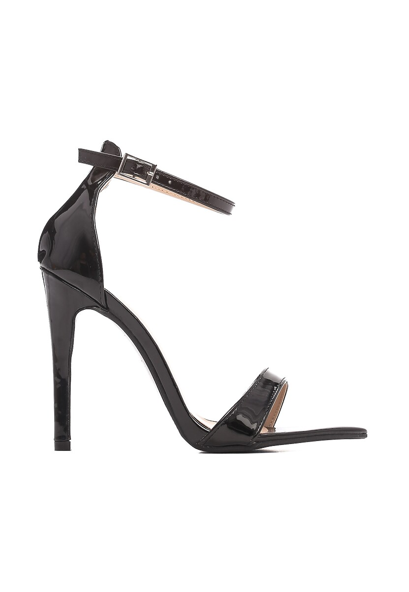 Czarne Sandały Cause