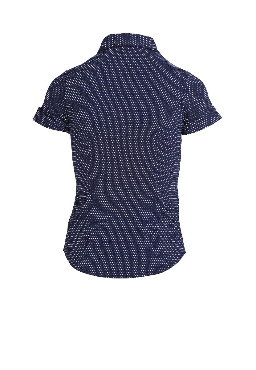 Granatowa Koszula Fickle