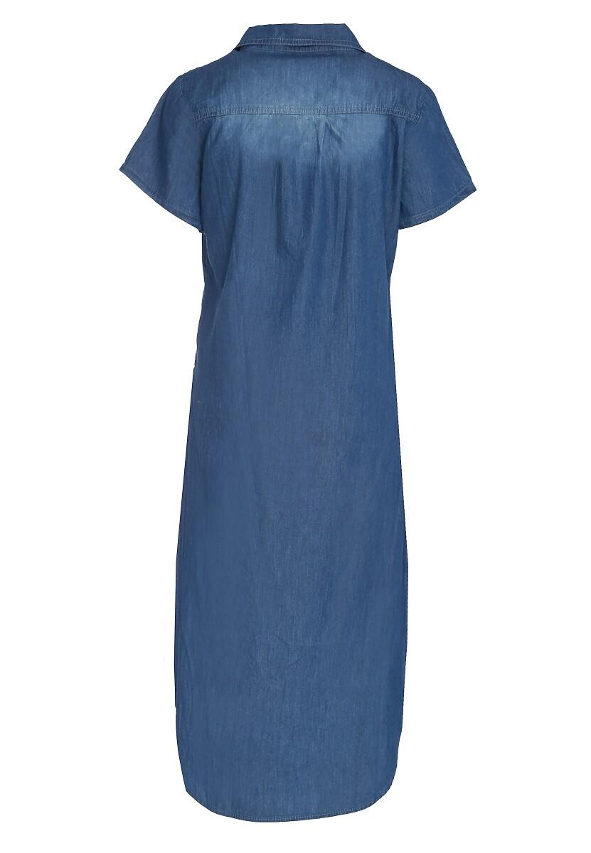 Ciemnoniebieska Koszula Periodic