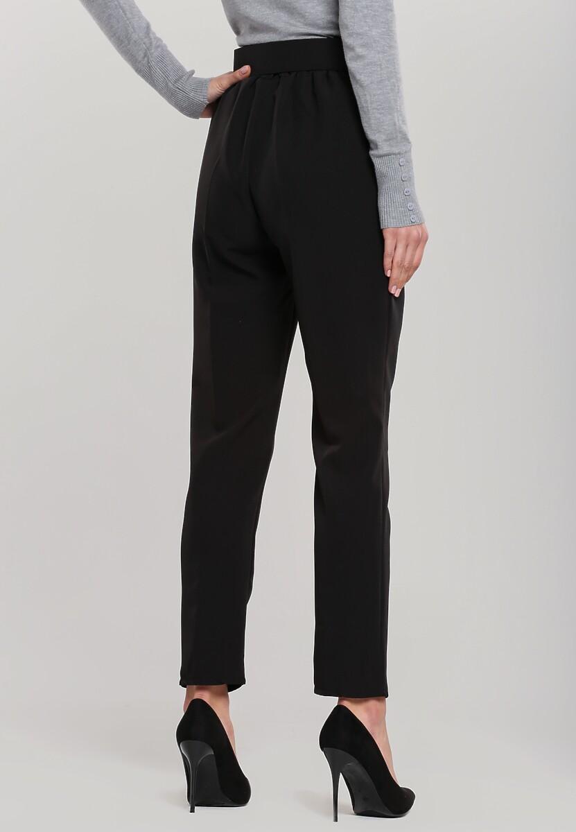 Czarne Spodnie Defined