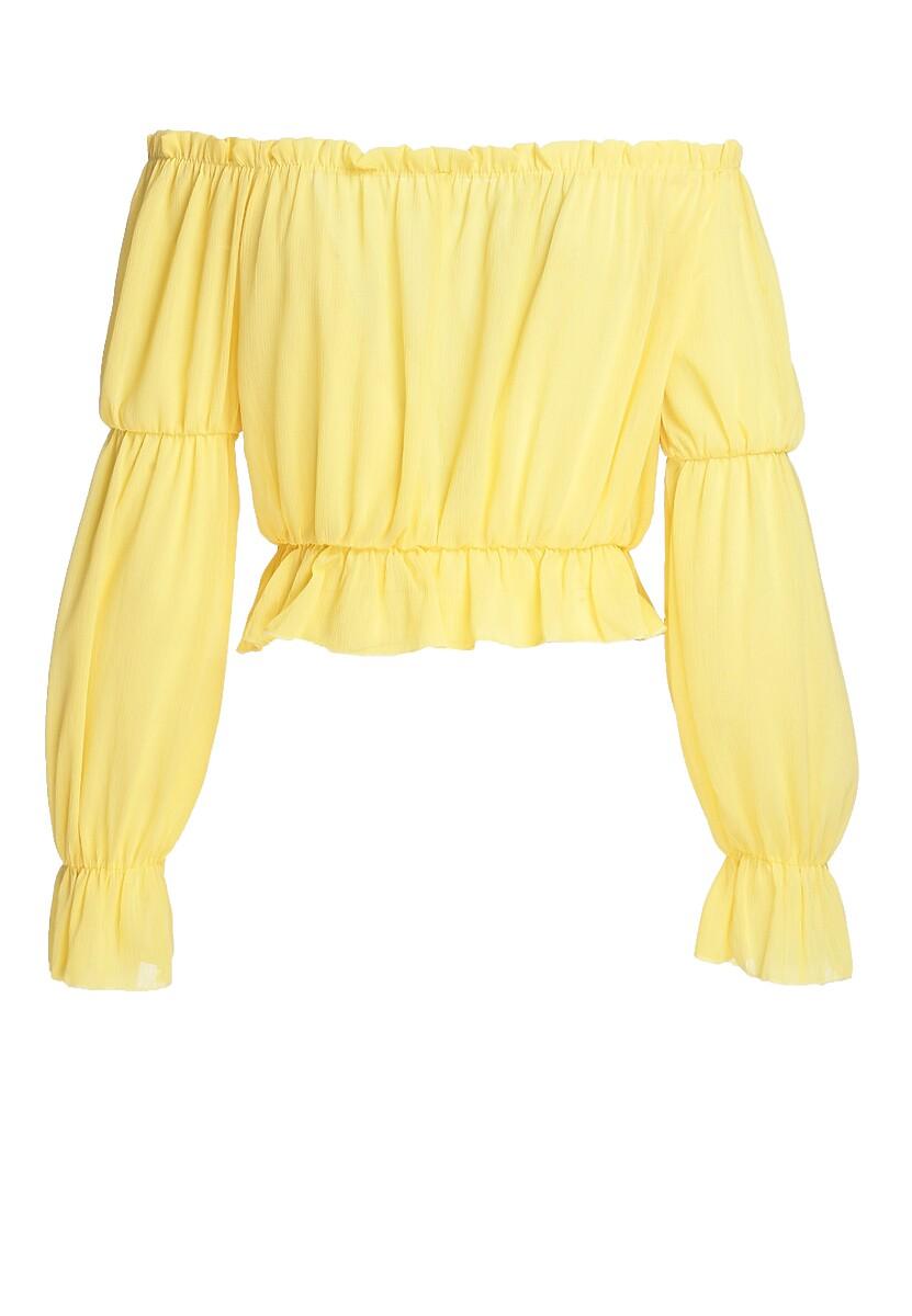 Żółta Bluzka Downright Neighborly