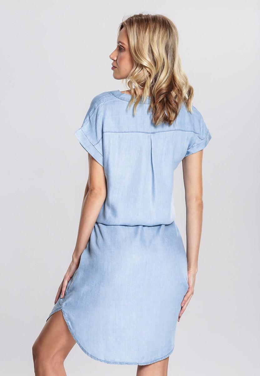 Niebieska Sukienka Self-Rule