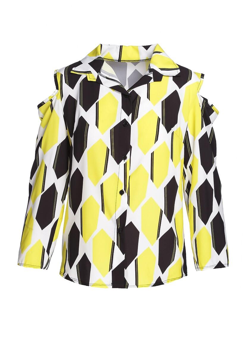 Żółta Koszula Well-Behaved