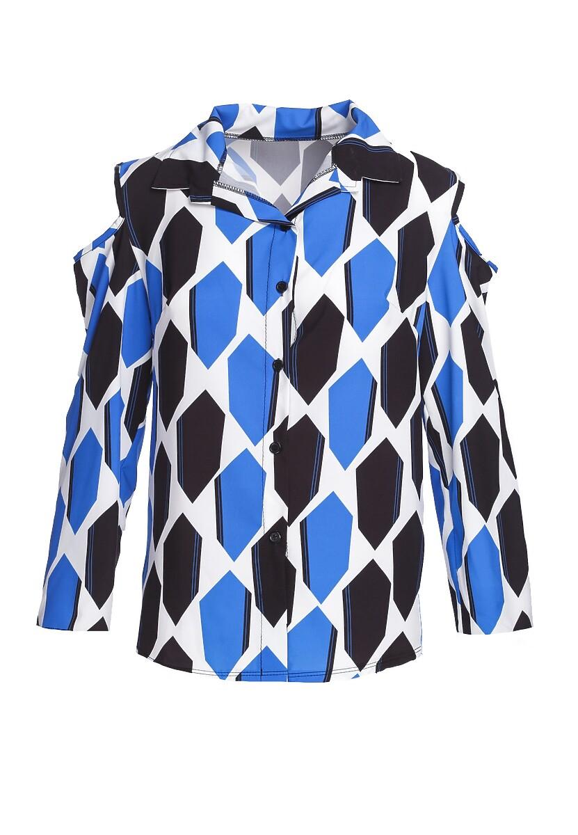 Niebieska Koszula Well-Behaved