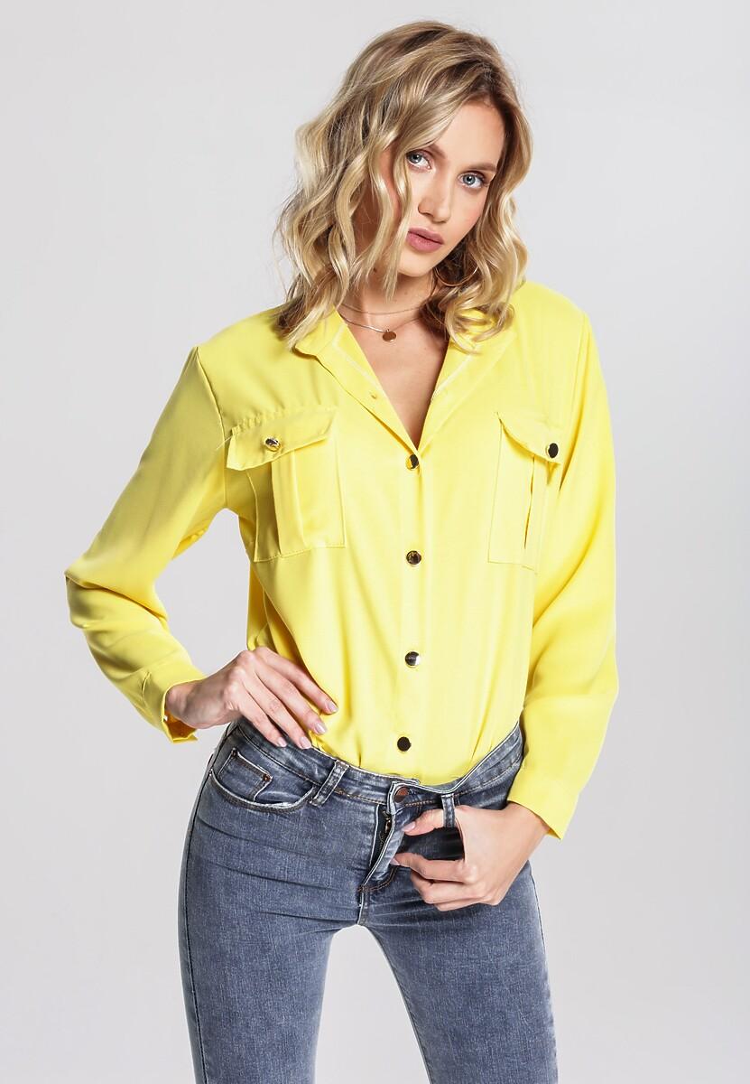 Żółta Koszula Rave