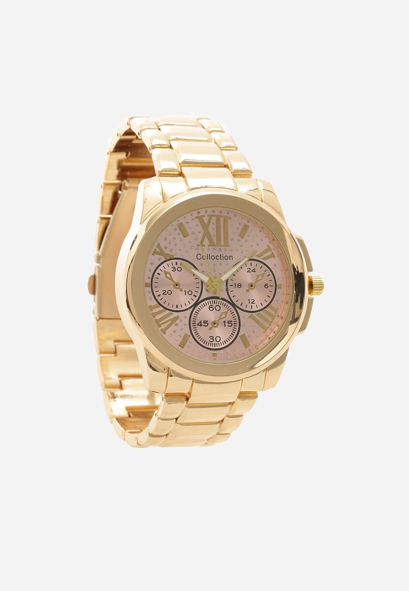 Złoto-Różowy Zegarek Fair-Haired