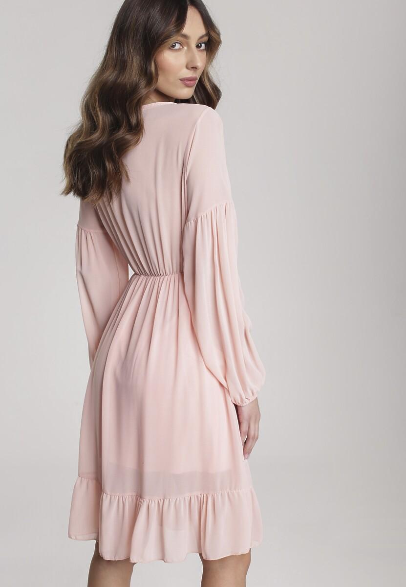 Jasnoróżowa Sukienka Blaze