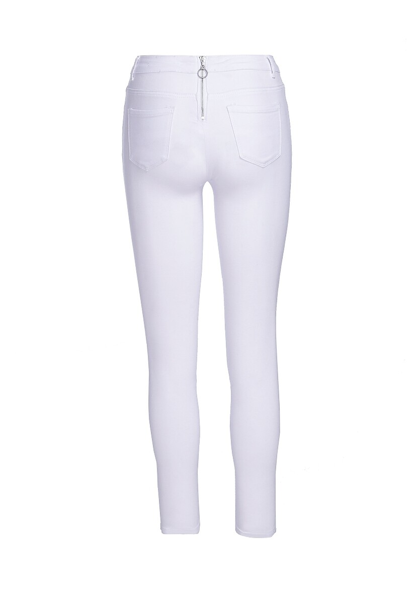 Białe Spodnie Effulgence