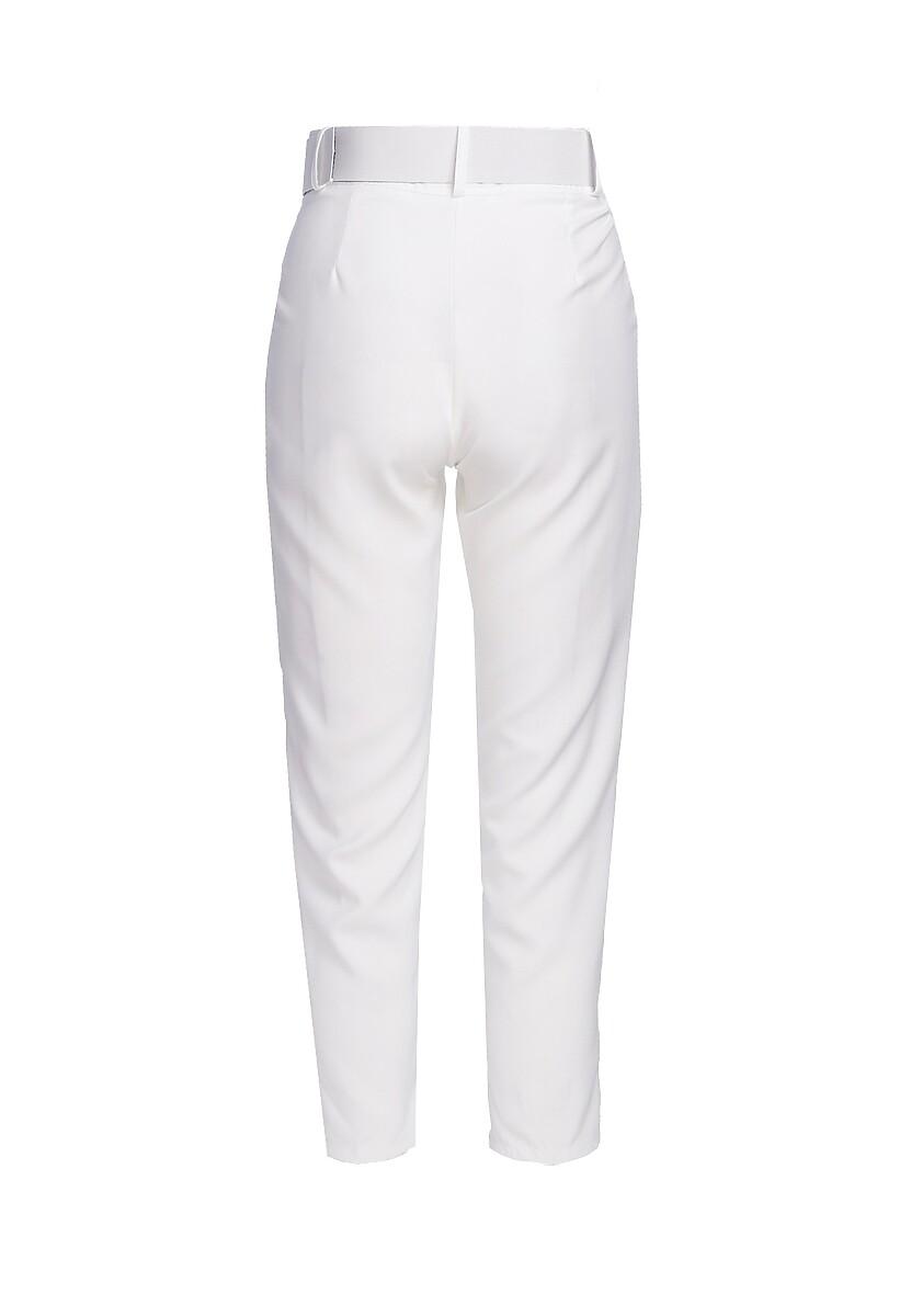 Białe Spodnie Simplicity