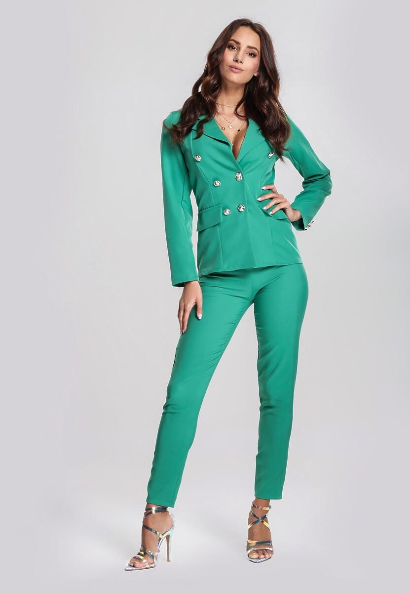 Zielony Garnitur Elegance
