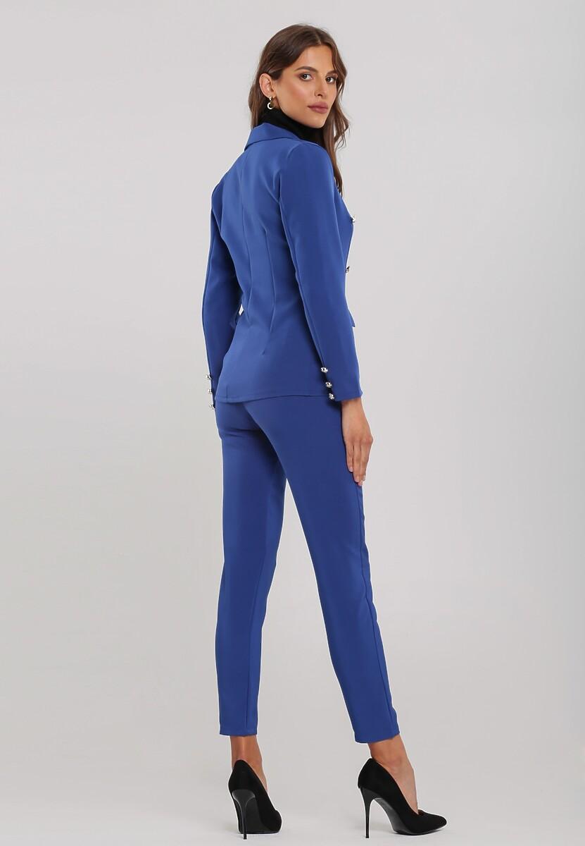 Ciemnoniebieski Garnitur Elegance