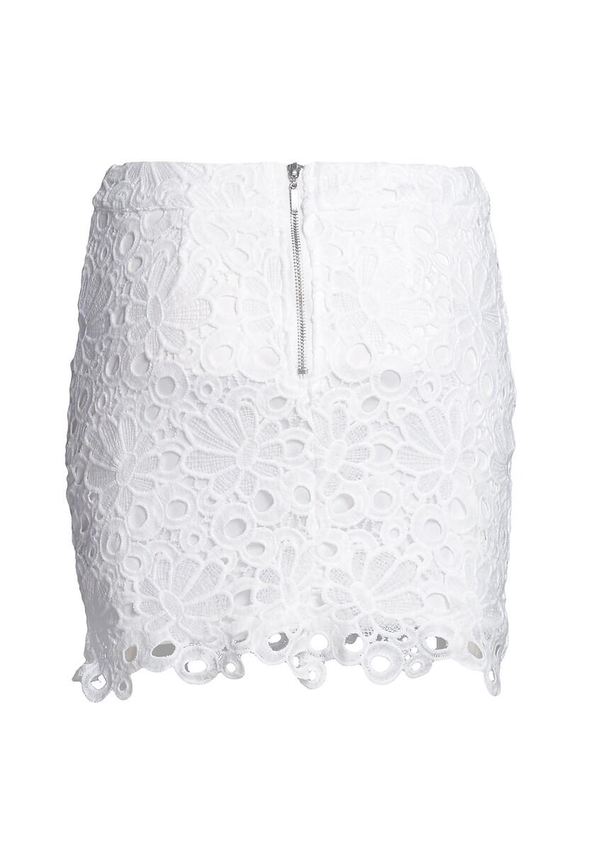 Biała Spódnica Perspicuity