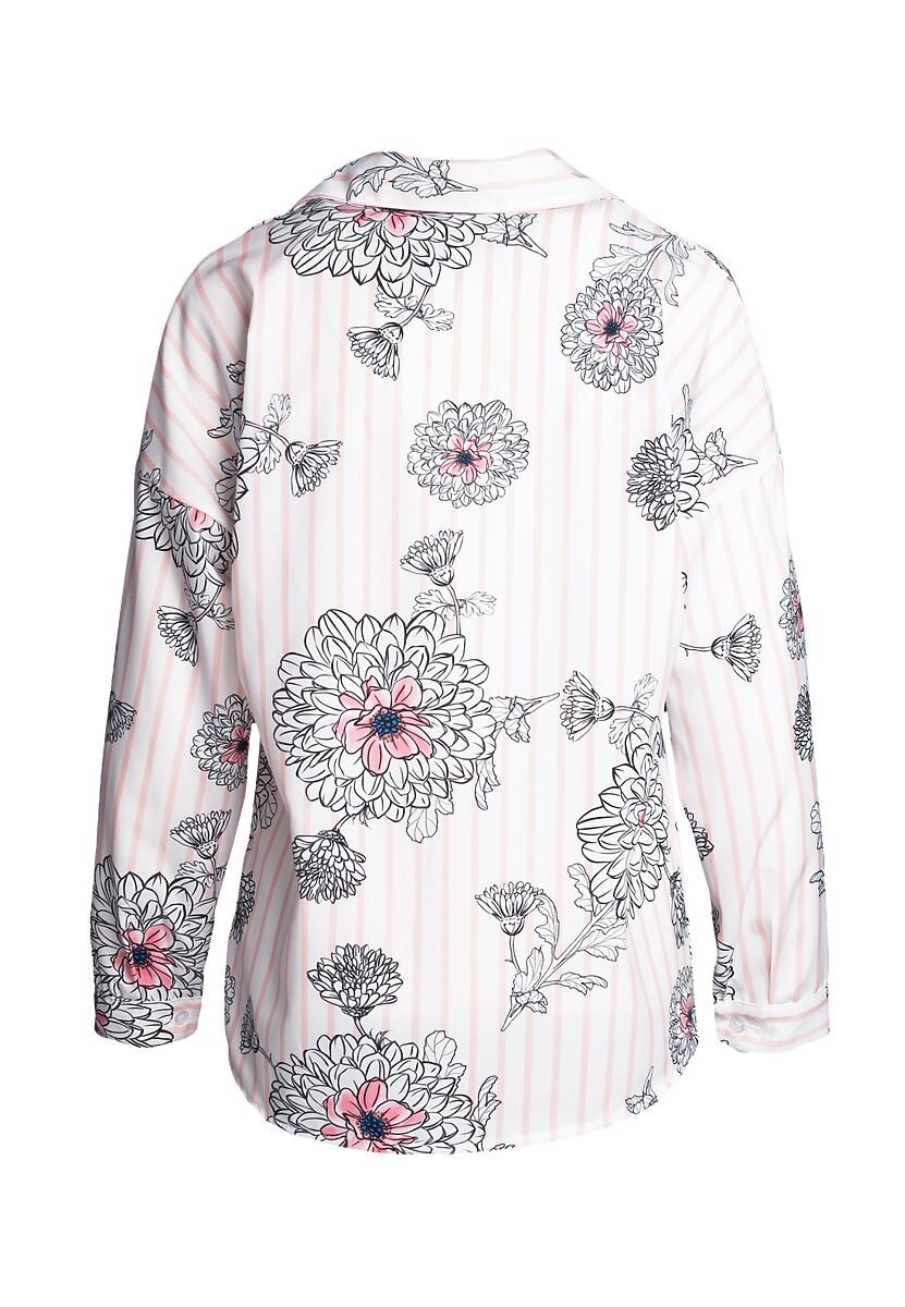 Biało-Rózowa Koszula Rid