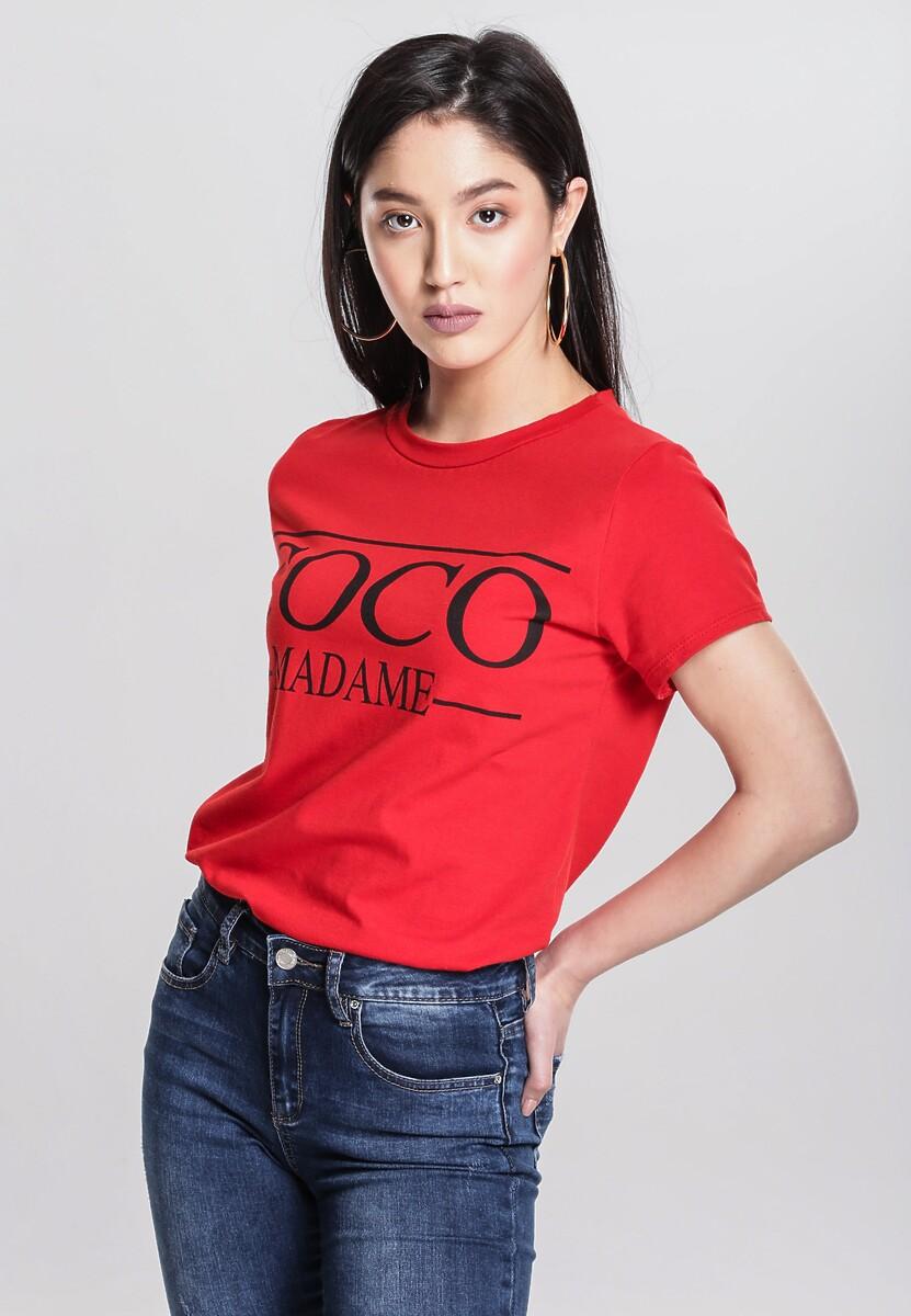 Czerwony T-shirt Resilience