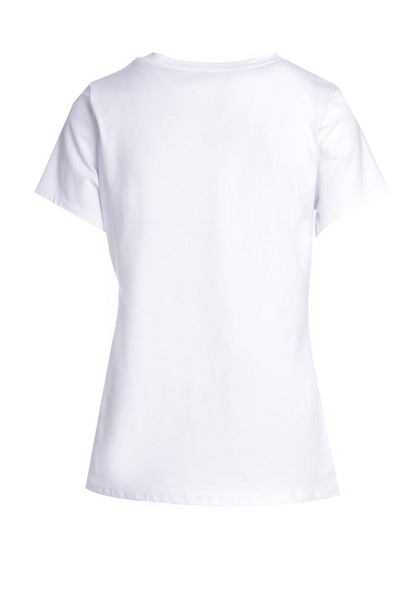 Biały T-shirt Resilience