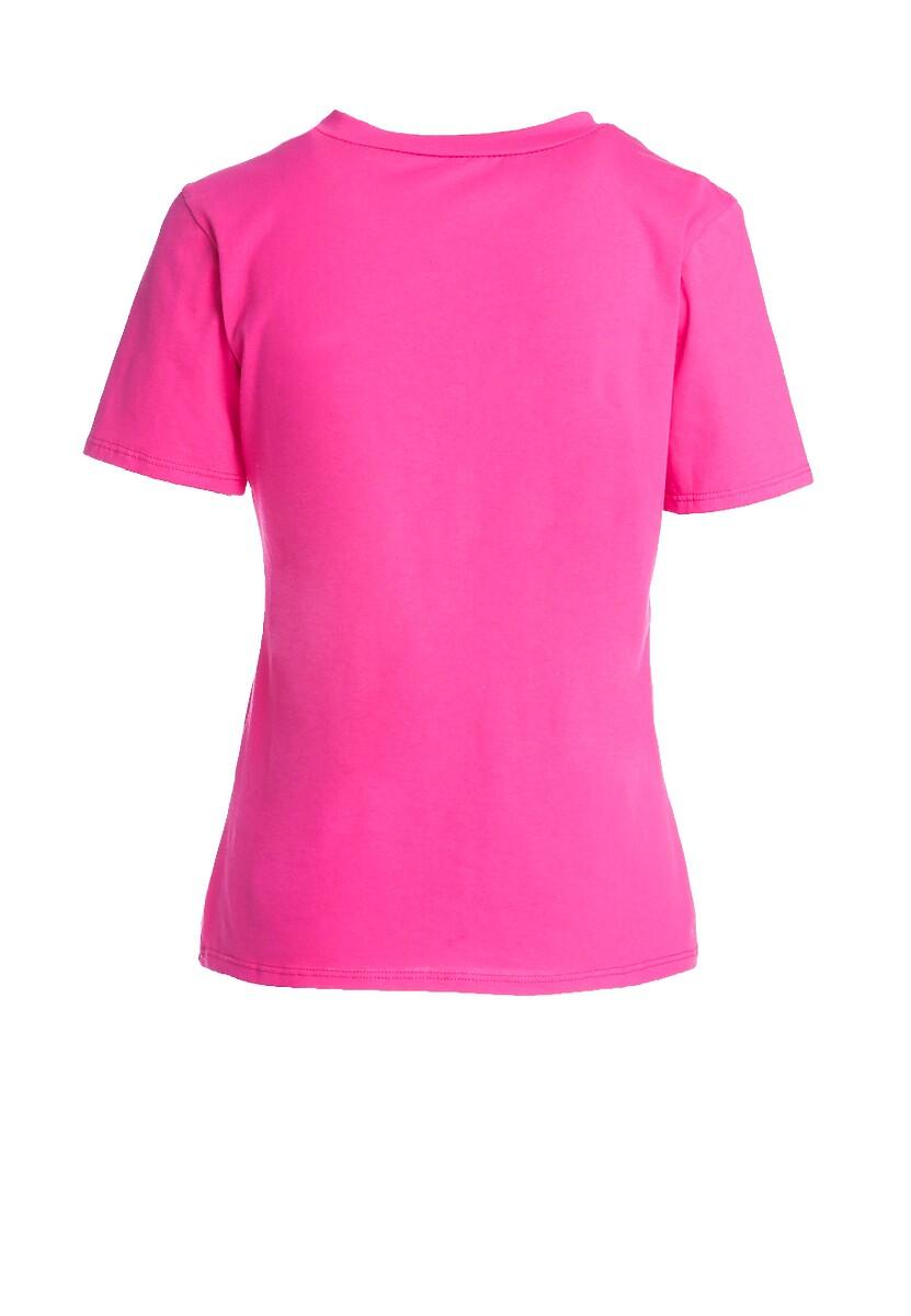 Fuksjowy T-shirt Summer