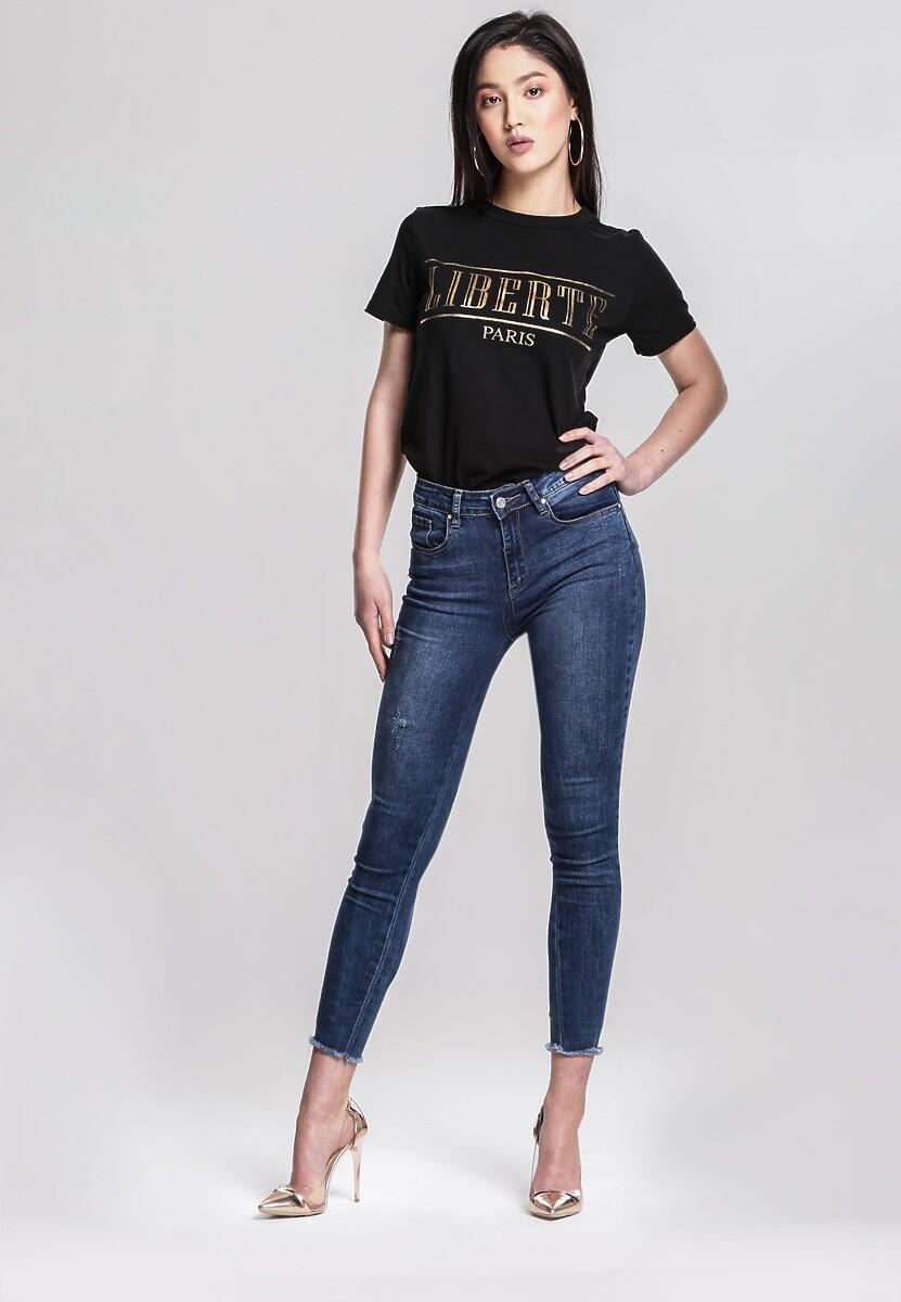 Czarny T-shirt Summer