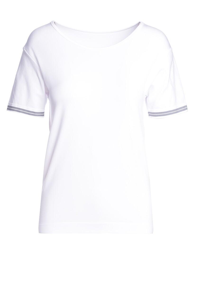 Biały T-shirt Instances