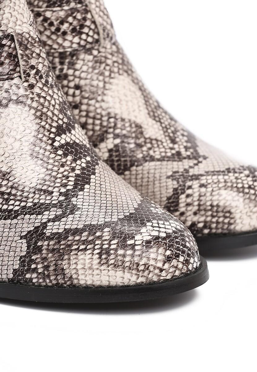 Wężowe Botki Dissolute
