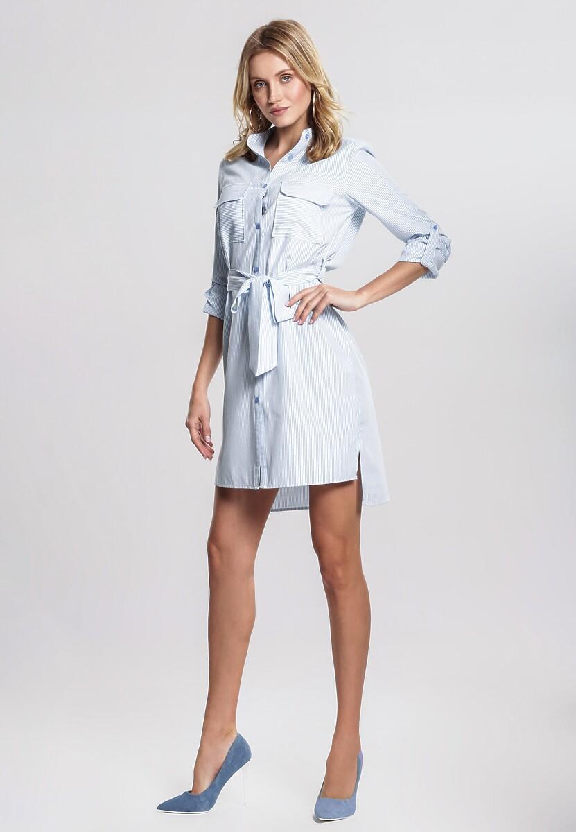 f4984800 Jasnoniebieska Sukienka Antipleasure