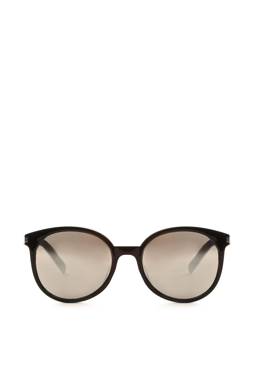 Czarno-Srebrne Okulary Criteria
