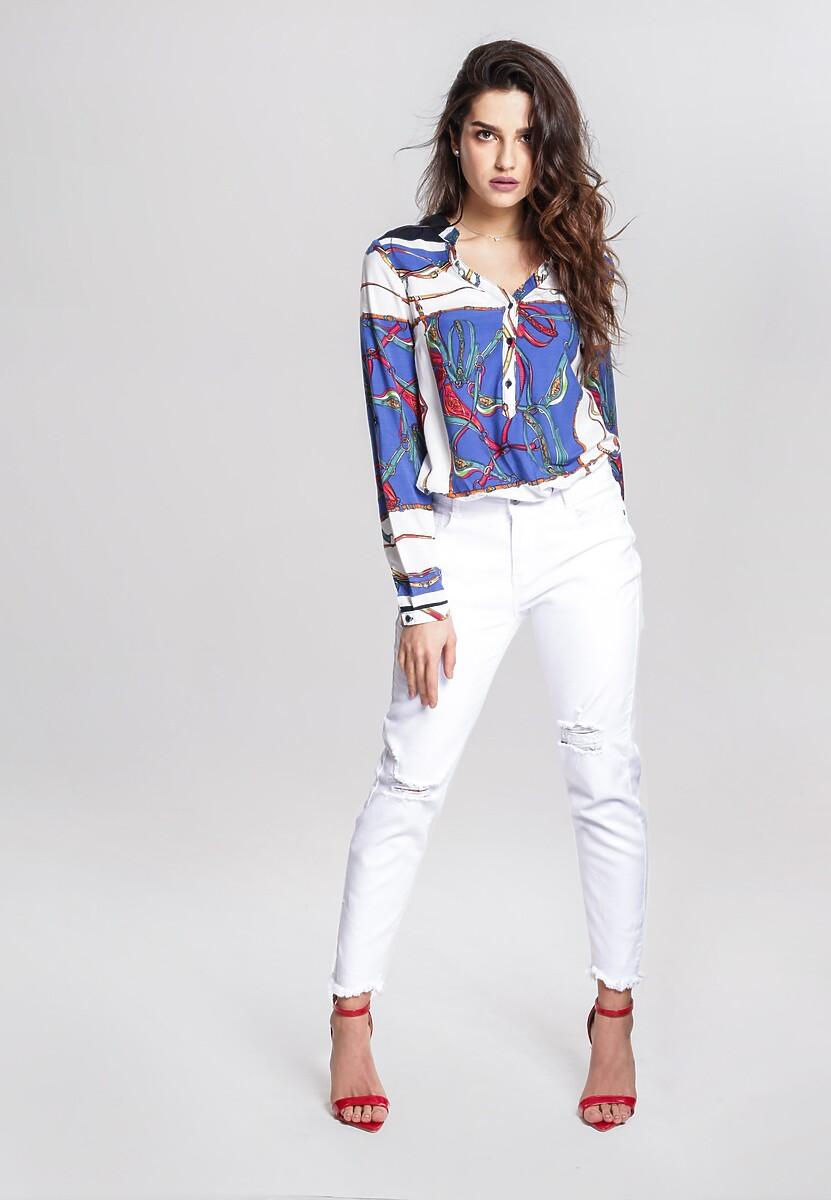 Biało-Niebieska Koszula Such