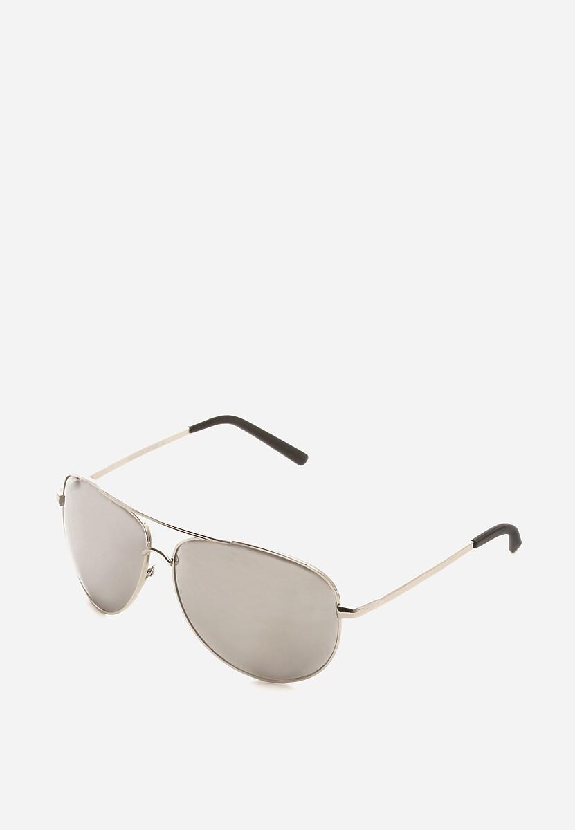 Srebrne Okulary Flash