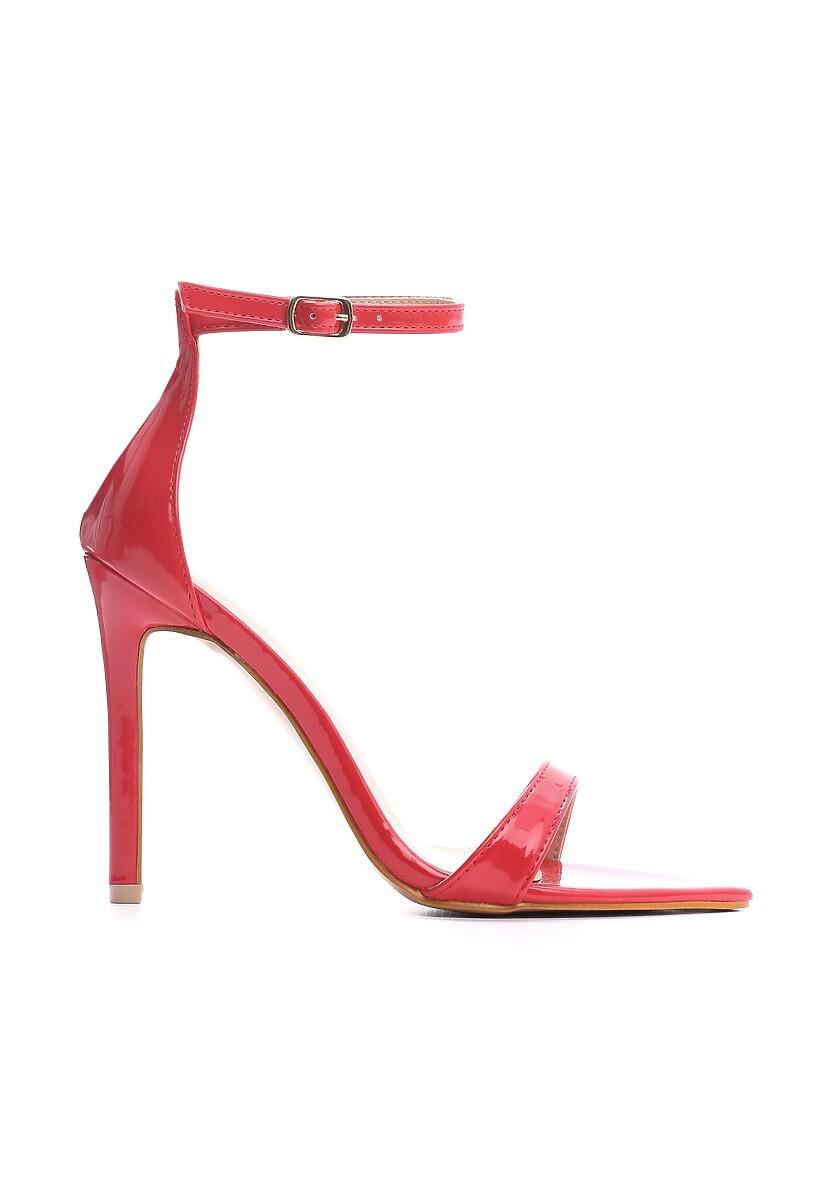 Czerwone Sandały Jeff
