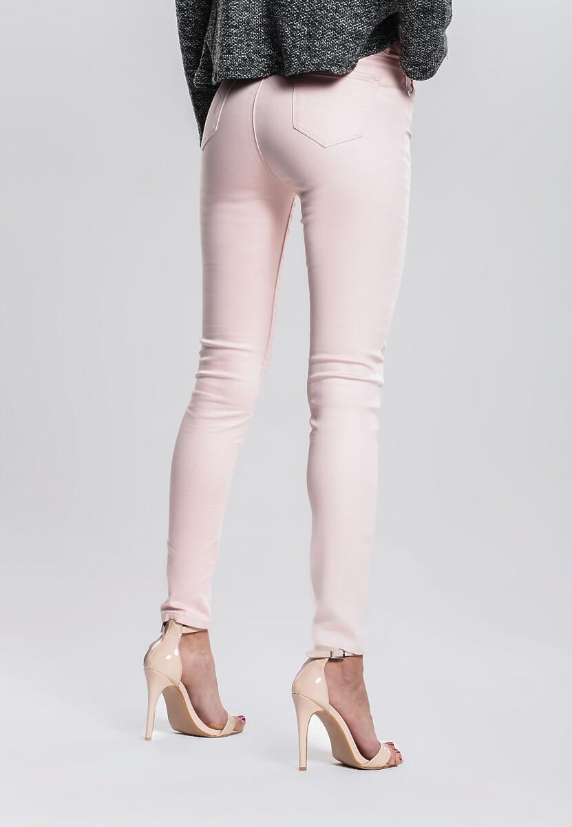 Jasnoróżowe Spodnie Get On With