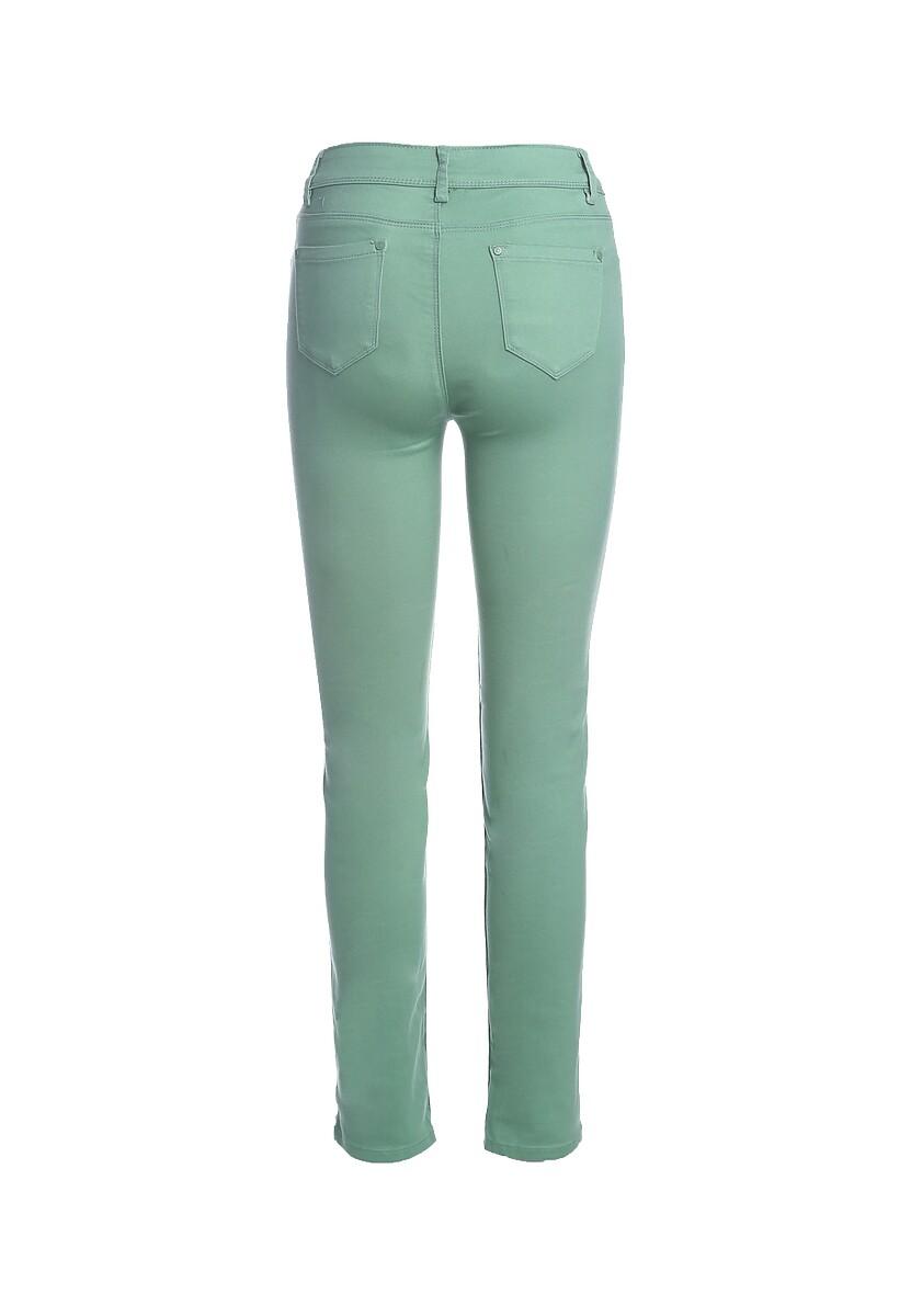 Zielone Spodnie Tejano