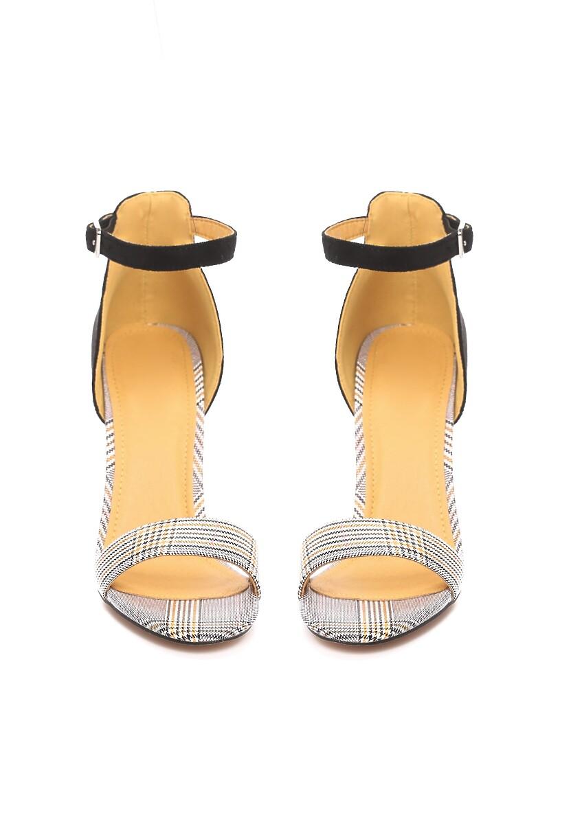 Czarno-Żółte Sandały Quest