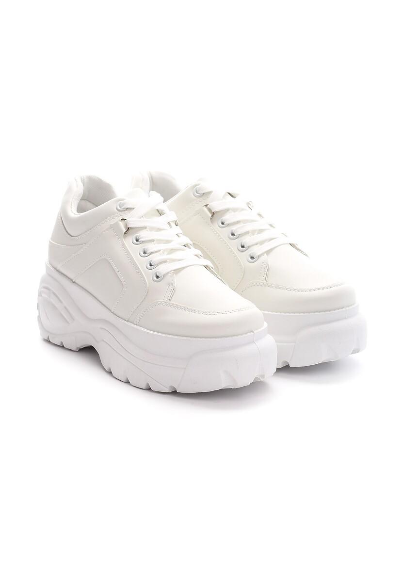 Białe Sneakersy Ascendancy