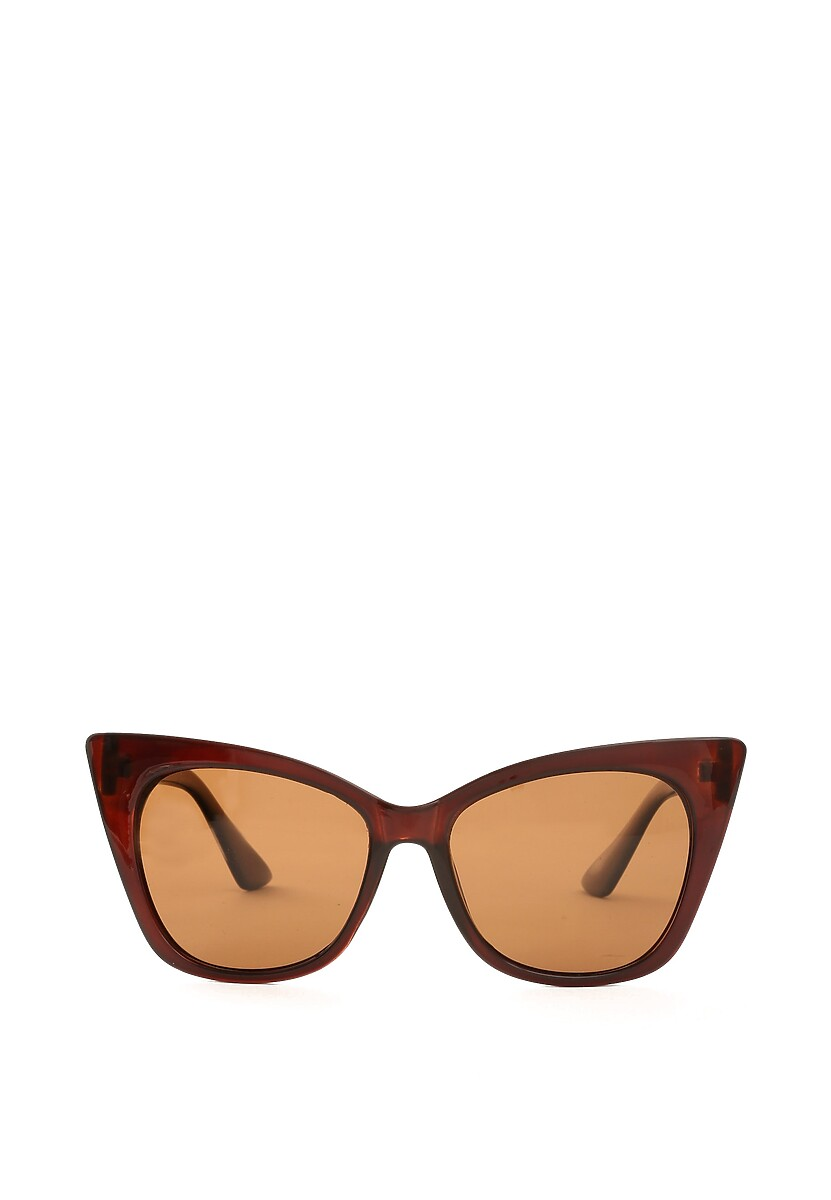 Brązowe Okulary Free Lance