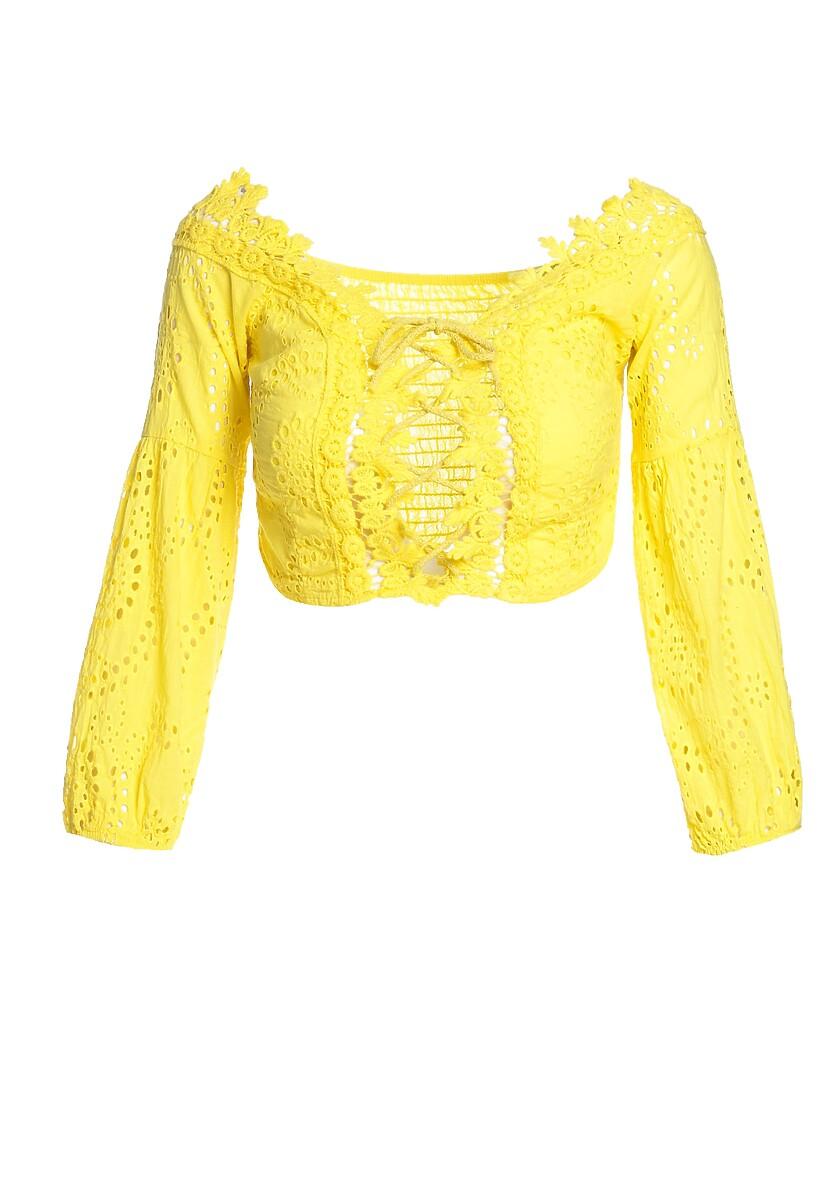 Żółta Bluzka Picking