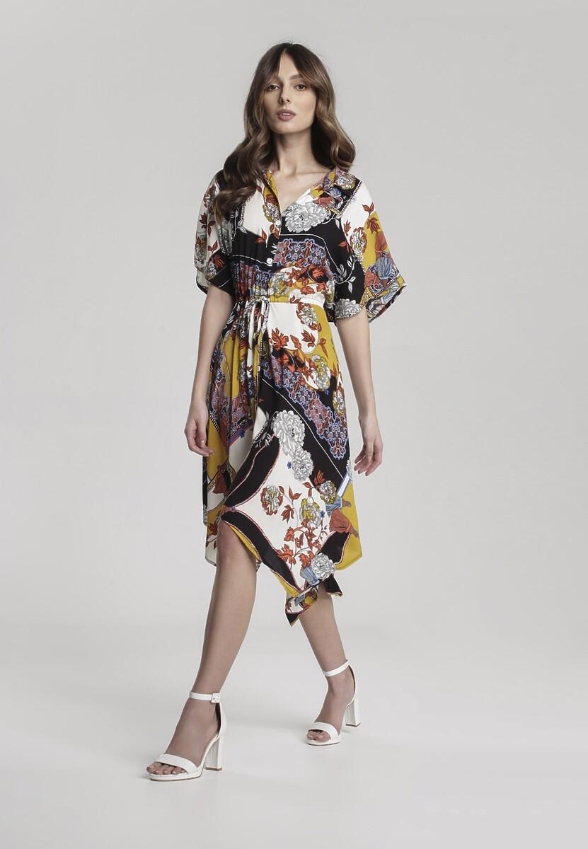 ac112709ba Musztardowa Sukienka Makes w Renee.pl