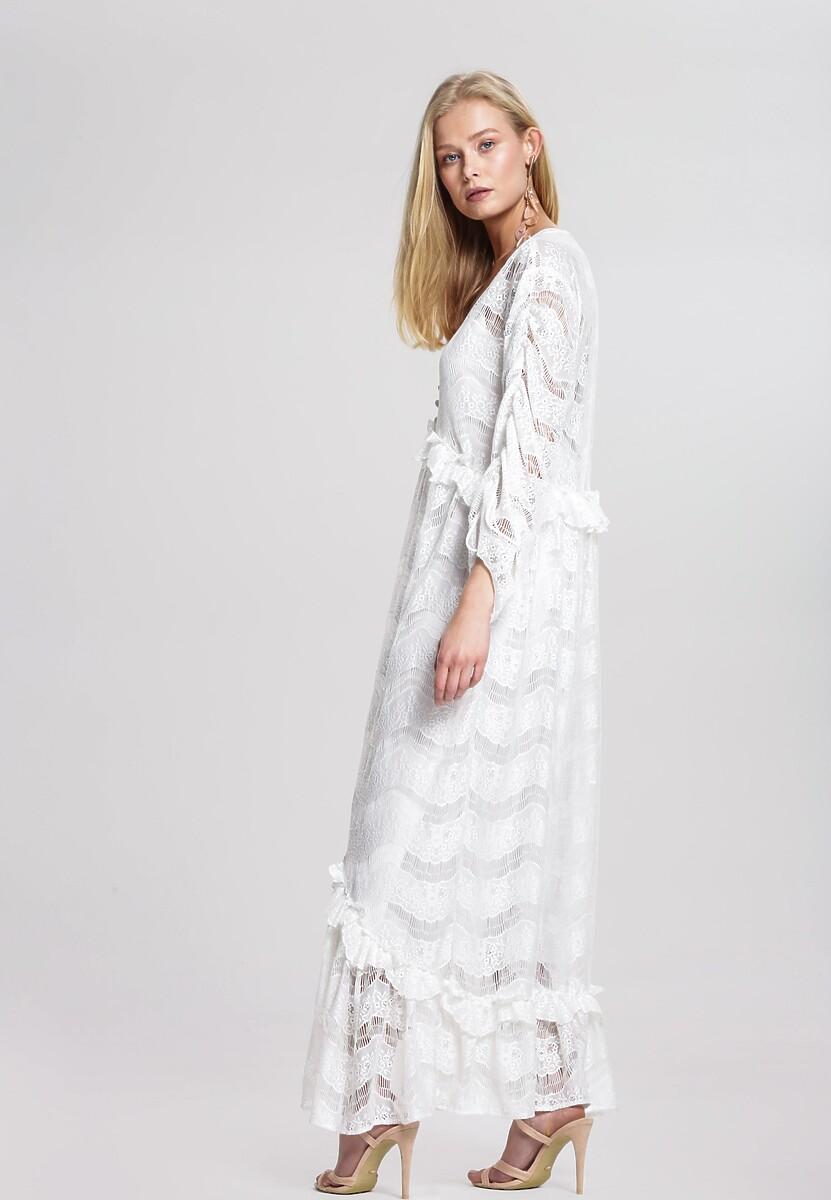 Biała Sukienka Set Free