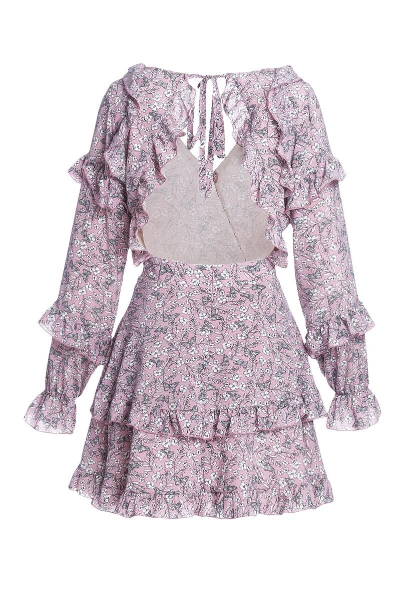 Różowa Sukienka Natural Order