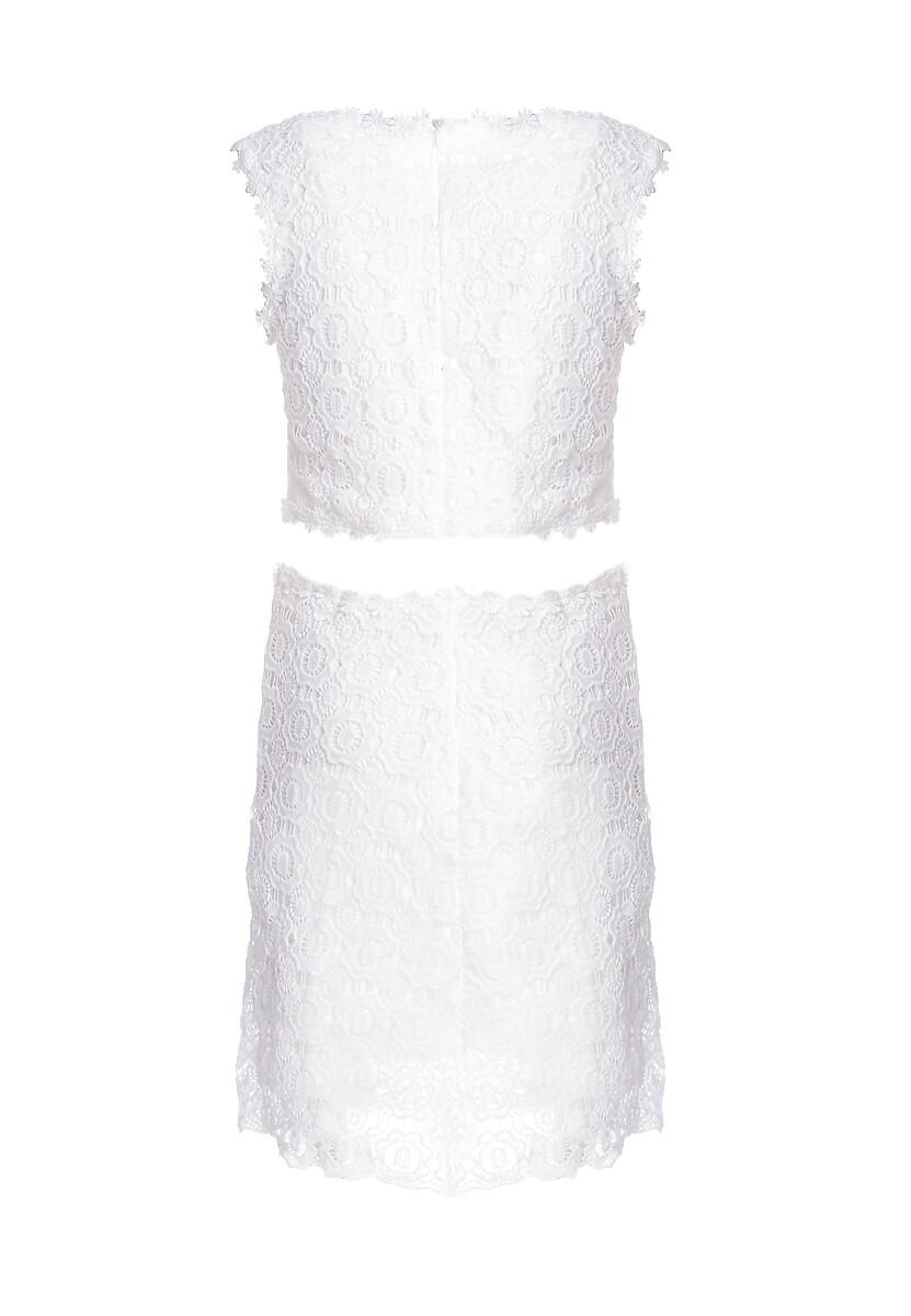 Biała Sukienka Keenly