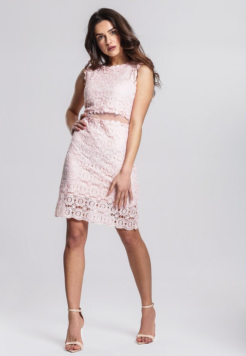 Łososiowa Sukienka Keenly