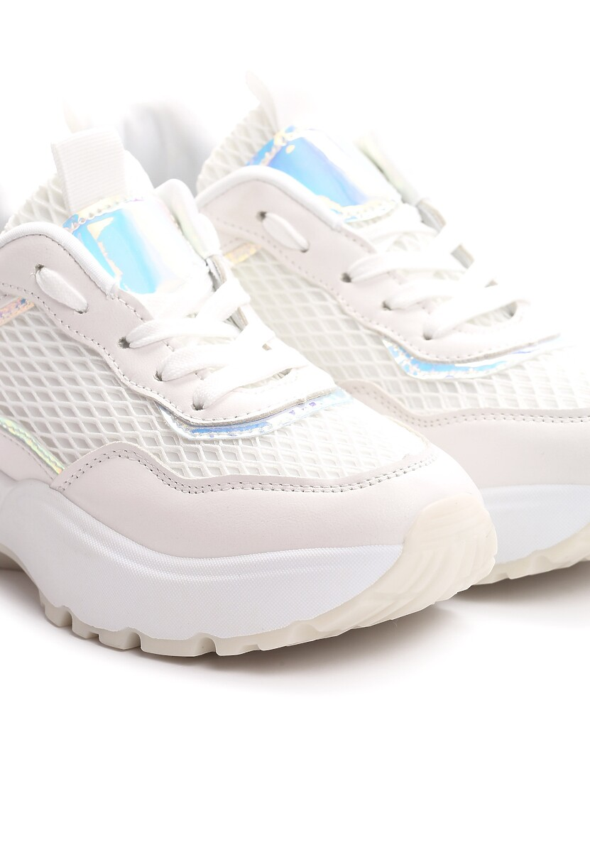 Białe Sneakersy Hardness