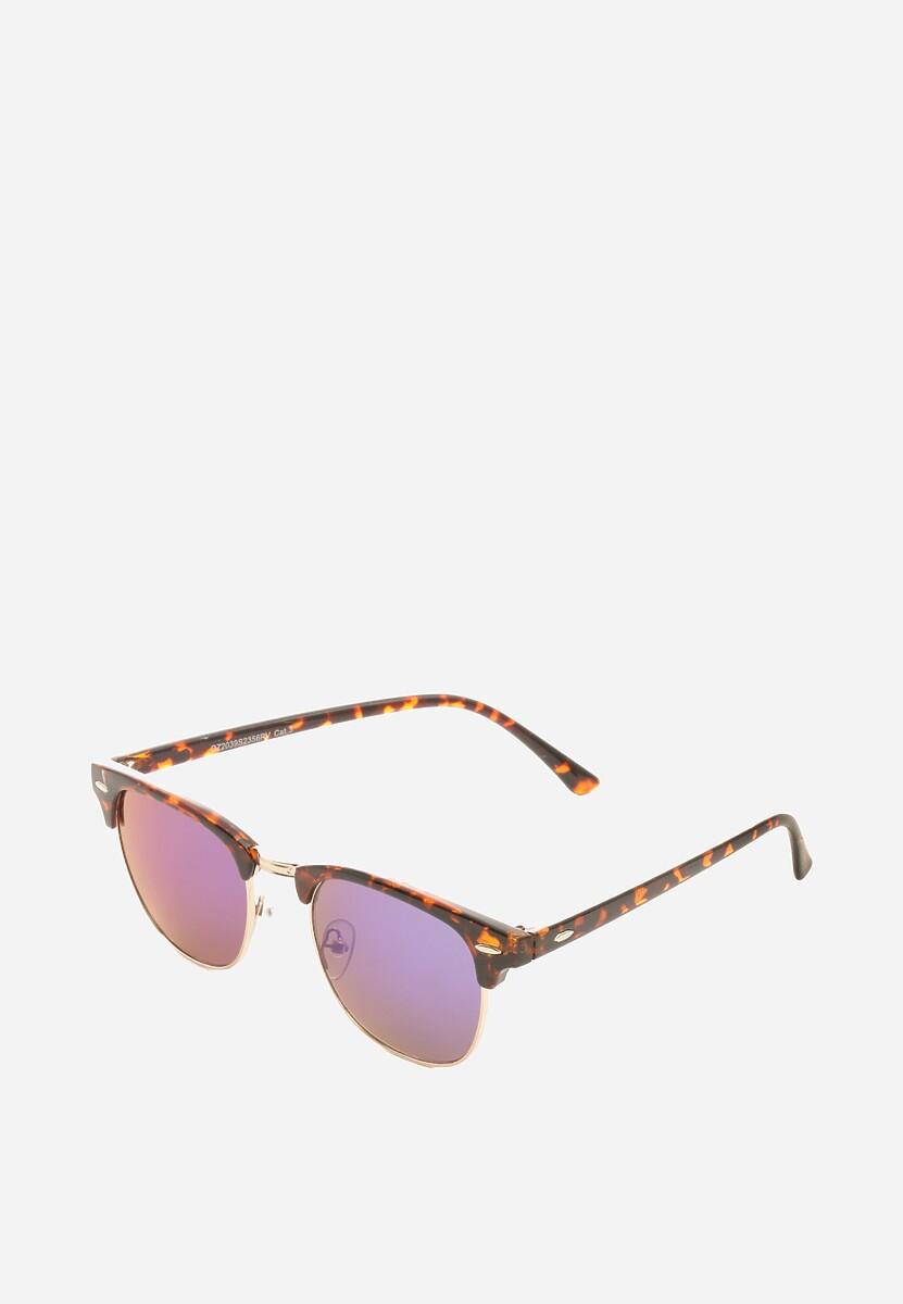 Brązowo-Niebieskie Okulary Adding