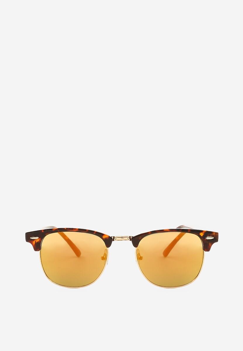 Ciemnozielone Okulary Adding